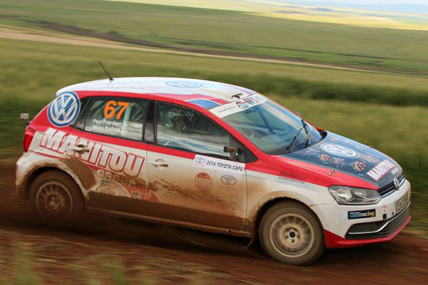 2014 Toyota Cape Dealer Rally: Franken/Kohne