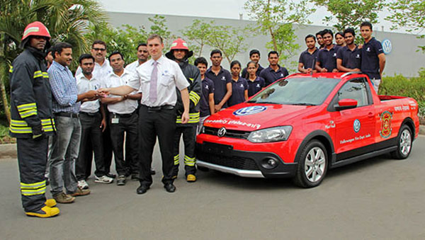 2014 Volkswagen Polo firefighting car