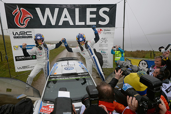 2014 Volkswagen Polo R WRC, Rally Great Britain: Ogier/Ingrassia