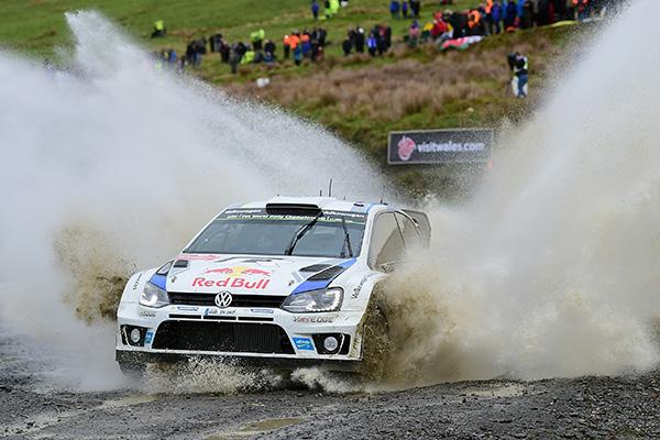 2014 Volkswagen Polo R WRC, Rally Great Britain: Ogier/Ingrassia