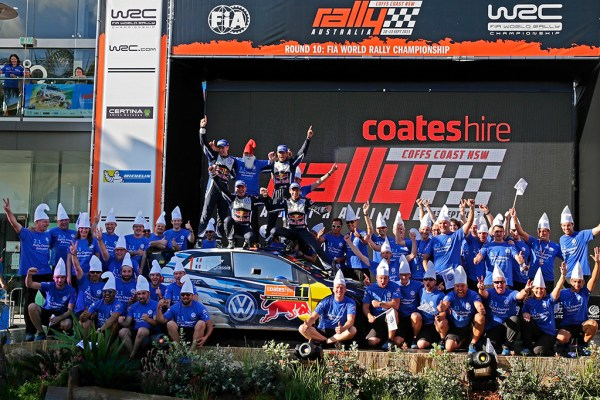 2015 Volkswagen Polo R WRC, Rally Australia: Volkswagen winners