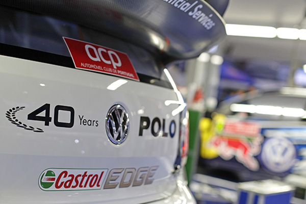 2015 Volkswagen Polo R WRC, Rally Portugal: Volkswagen Service