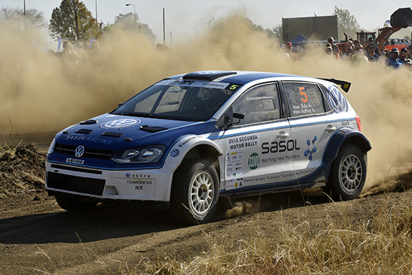 2015 Volkswagen Polo S2000, Secunda Rally: Zulu/Auffray