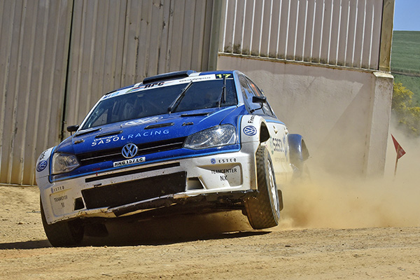 2015 Volkswagen Polo S2000 ZA, Toyota Cape Dealer Rally: Lategan/White