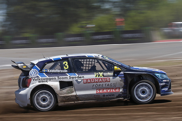2015 Volkswagen Polo RX, World Rallycross of Argentina: Kristoffersson