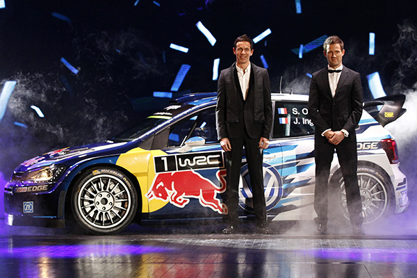 Polo R Wrc And Volkswagen Rally Drivers Celebrated With End Of