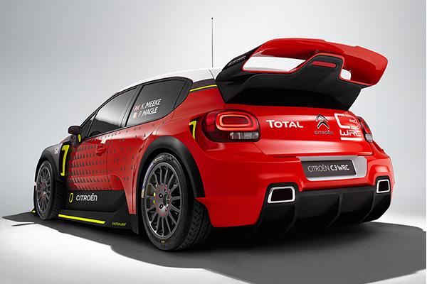 2016 Citroën C3 WRC concept