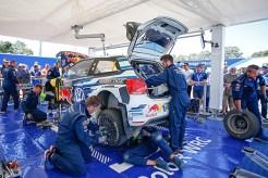 2016 Volkswagen Polo R WRC, Rally Australia: Service