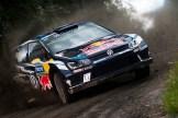2016 Volkswagen Polo R WRC, Rally Finland: Mikkelsen/Jæger