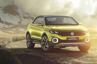 2016 Volkswagen T-Cross Breeze