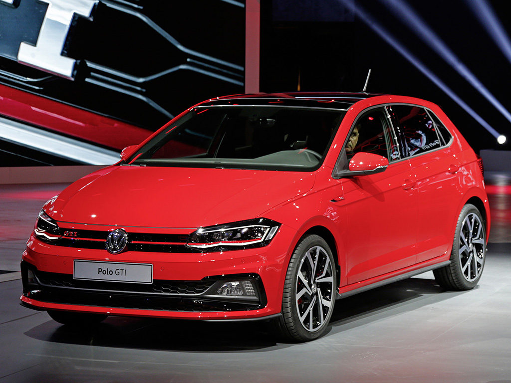 More Sporty Driving Style New Polo Gti Debuts At Iaa