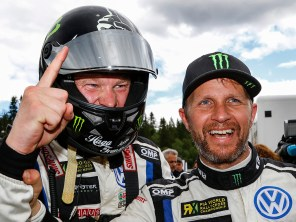 2017 PSRX Volkswagen Sweden Polo GTI Supercar, World RX of Norway: Solberg and Kristoffersson