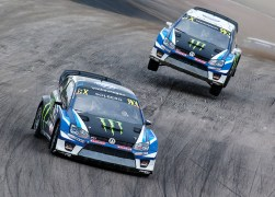 2017 PSRX Volkswagen Sweden Polo GTI Supercar, World RX of Sweden: Solberg and Kristoffersson