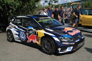 2016 Volkswagen Polo R WRC at GTI Coming Home 2018 event (Image: Neil Birkitt, Volkswagen Driver magazine)