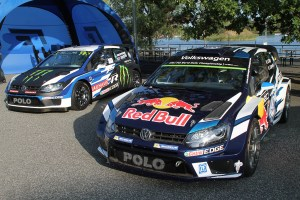 Volkswagen Polo R WRC and Polo RX at GTI Coming Home 2018 event (Image: Neil Birkitt, Volkswagen Driver magazine)
