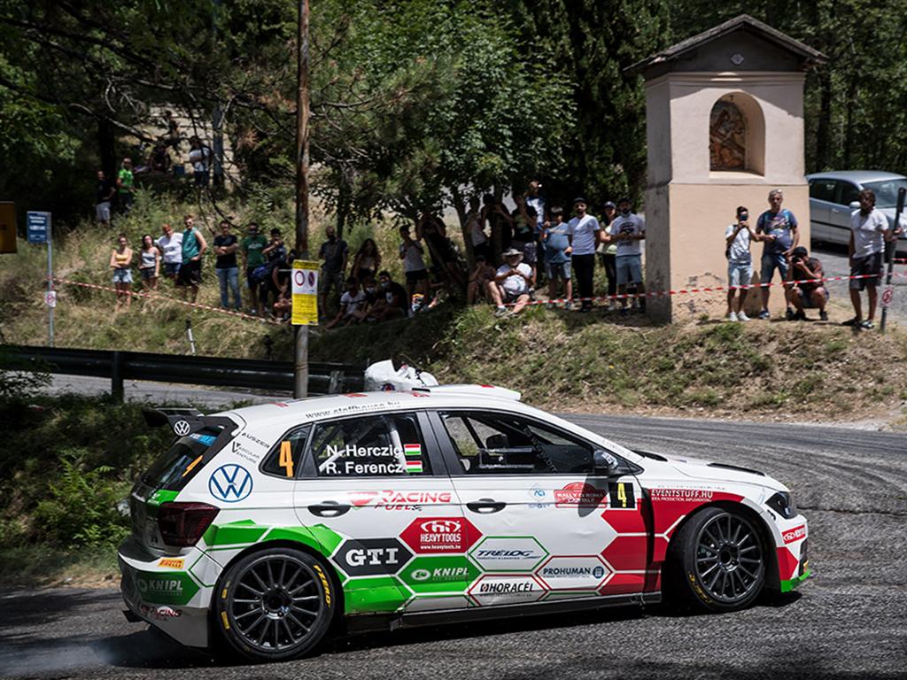 2020 Volkswagen Polo GTI R5, Rally di Roma Capitale: Herczig