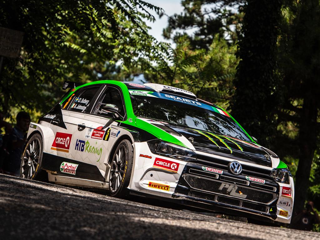 2020 Volkswagen Polo GTI R5, Rally di Roma Capitale: Solberg