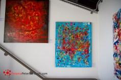 polski malarz z Peterborough