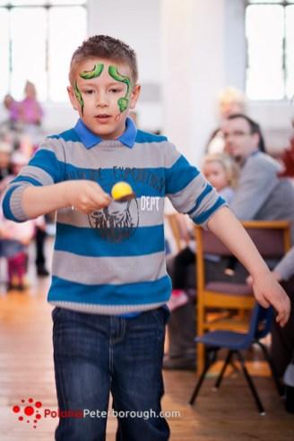 impreza dla dzieci w Cambridge
