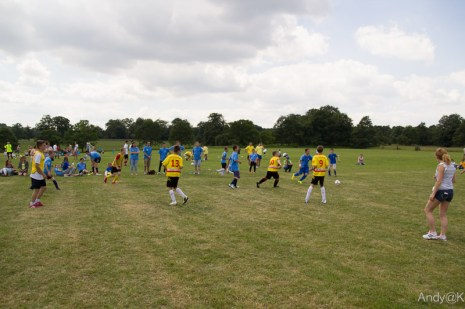 mecze podczas dnia dziecka w laxton 2014