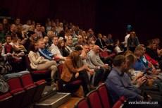 Polonia Peterborough podczas wystepu jednego z polskich kabaretow