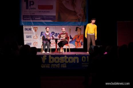 Kabaret Łowcy.B w Peterborough