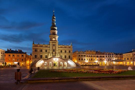 Zamosc, el renacimiento polaco