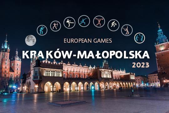 Giochi Europei 2023 a Cracovia e nella regione Malopolska