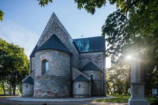 Chiesa in stile romanico a Kruszwica