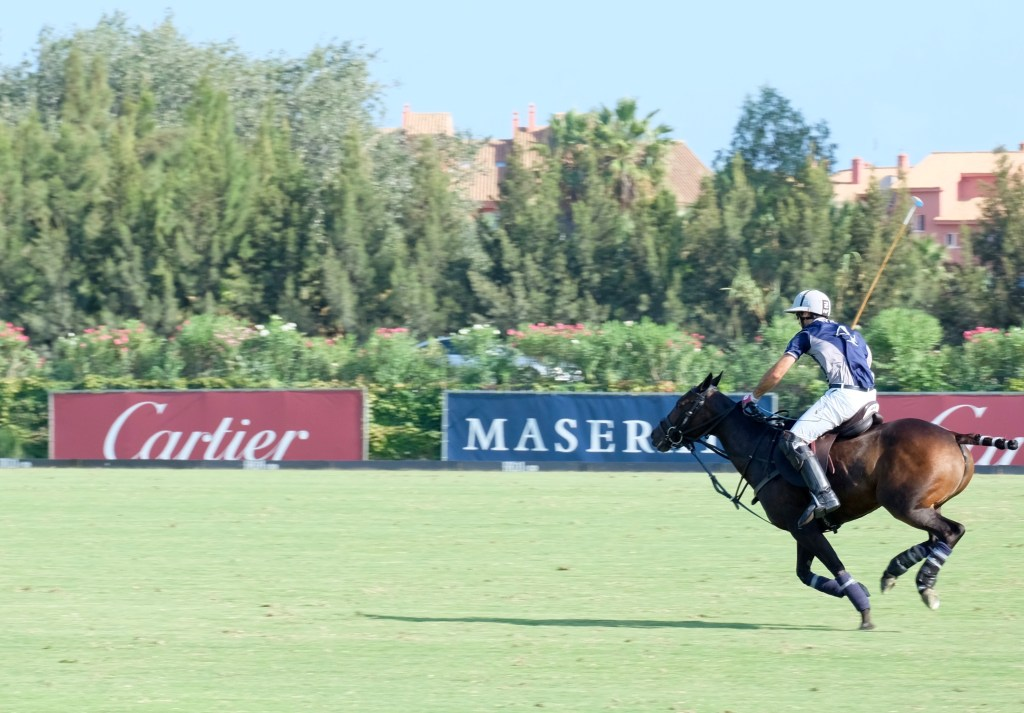 Nico Pieres making a run for it to score the final goal