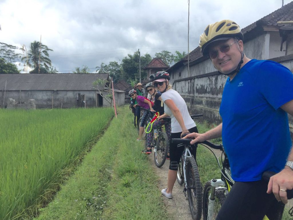 PoloPeoplePlaces bike Riding in Bali