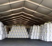 telthall oppblåsbart tak