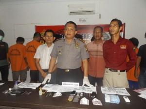 Pesta Narkoba, Tujuh Pelaku Diringkus Polres Merangin