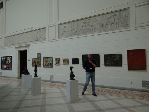 Fragment ekspozycji SZCZELINY WOLNOŚCI