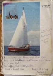 4. Ksiąga gości Maria UiF Klee 09.1978 Cocos Isls OK