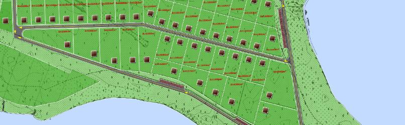 План коттеджного городка
