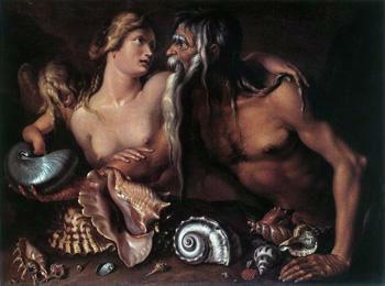 Amphitrite y Neptuno