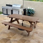 Polywood 72 In Commercial Picnic Table Park Collection Polywood Outdoor Furniture Collections