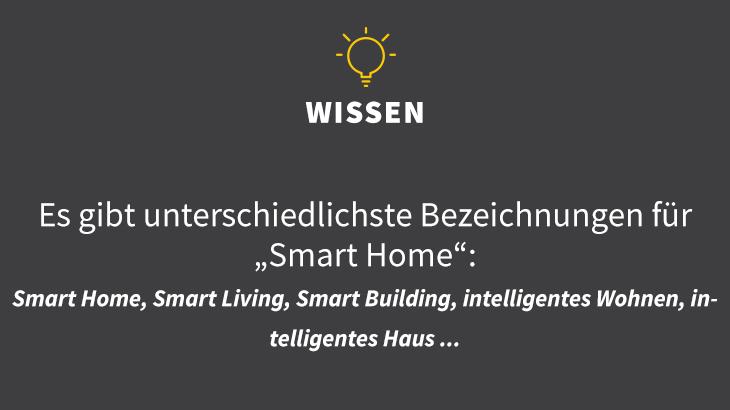 Smart Home, Smart Living, Smart Building, intelligentes Wohnen, intelligentes Haus
