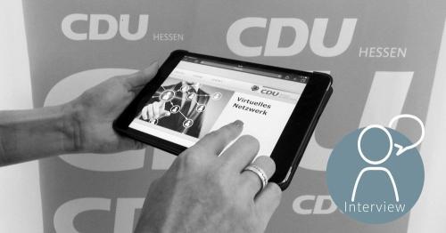 """Das """"Virtuelle Netzwerk"""" der CDU Hessen wählt mit Polyas und ist zufrieden"""