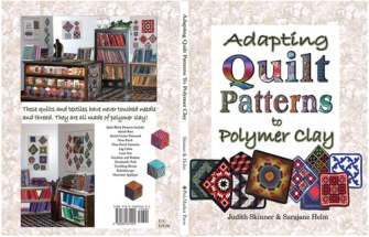 Adapting Quilt Patterns to Polymer Clay book covers done in Photoshop