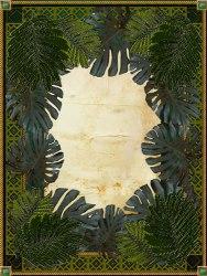 jungle border in Illustrator