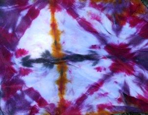 tie dye fabric shibori