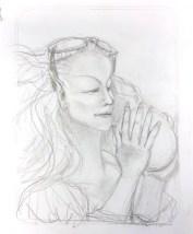 sketch for Sinder the elf