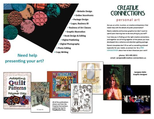 Creative Connections brochure Sarajane Helm