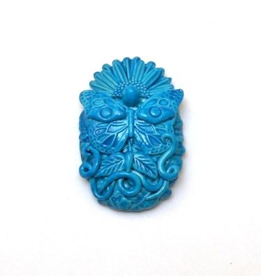 Randee M. Ketzel miniature polymer clay mask