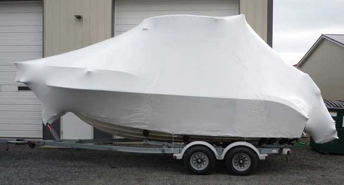 Copertura barca Termoretraibile