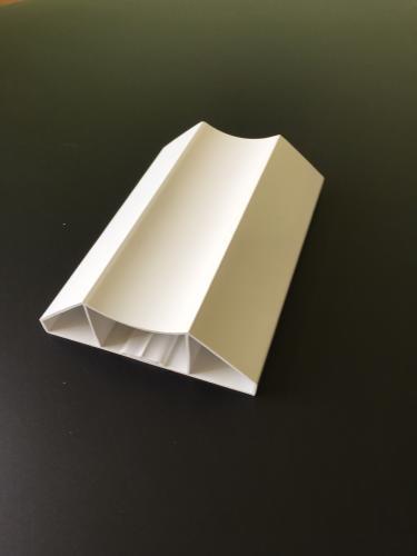 Lisse Pvc Blanc Moulure 100x34 Mm Ml