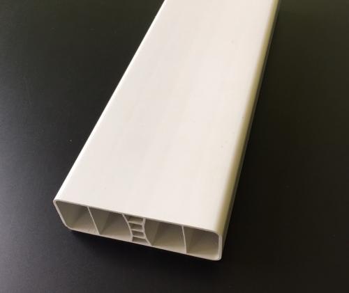Lisse Pvc Blanc Droite 80x26x1 2 Mm Au Ml