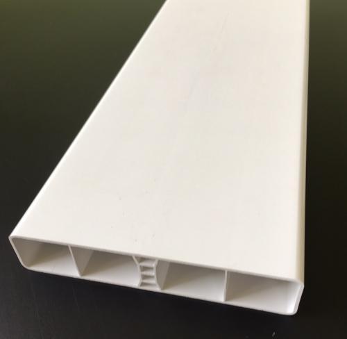 Lisse Pvc Blanc Droite 130x26x1 2 Mm Au Ml